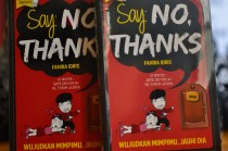 Peluncuran Buku 'Say No, Thanks'