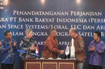 MoU Program Satelit BRI