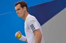 Andy Murray Melenggang