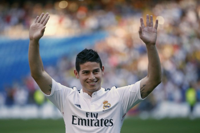 James Rodriguez--REUTERS/Juan Medina