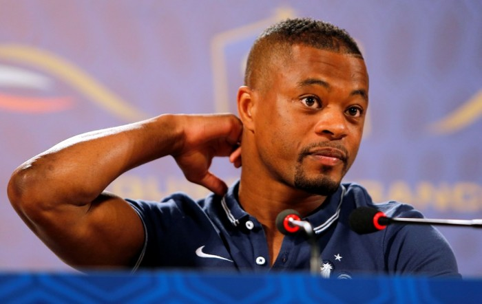 Patrice Evra (AP Photo/David Vincent)