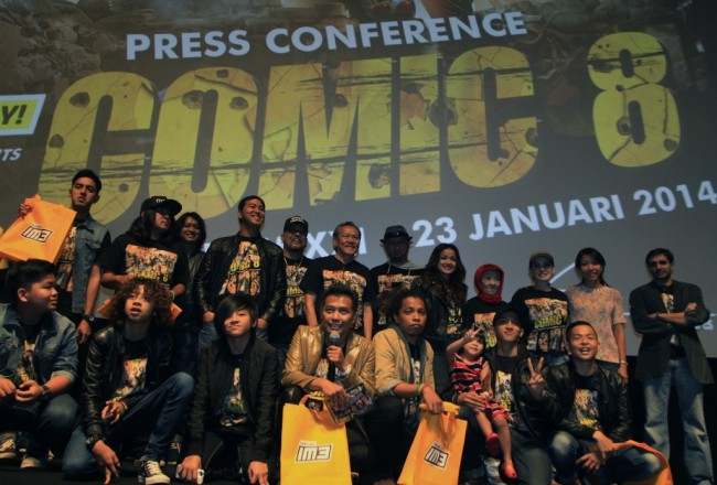 50 Artis Indonesia Siap Bintangi Film Comic 8: Casino Kings