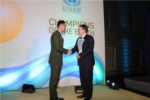 PBB Anugerahi SBY 'Champion of the Earth 2014'