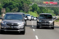 Test Drive Honda New CRV