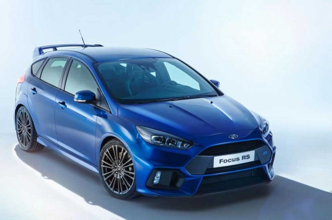 New Ford Focus RS EcoBoost Sudah 4WD, Lho !