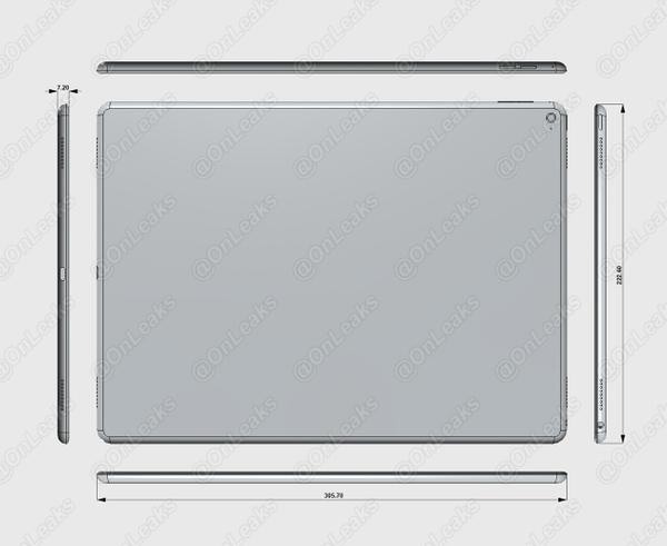 Rumor: Apple iPad Pro Setebal  7,1 Milimeter
