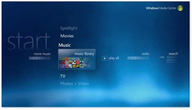 Windows Media Center tak akan Hadir di Windows 10