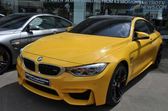 The New BMW M4 Coupe Edition MOCI, Cita Rasa MOCI Diracik Pabrikan