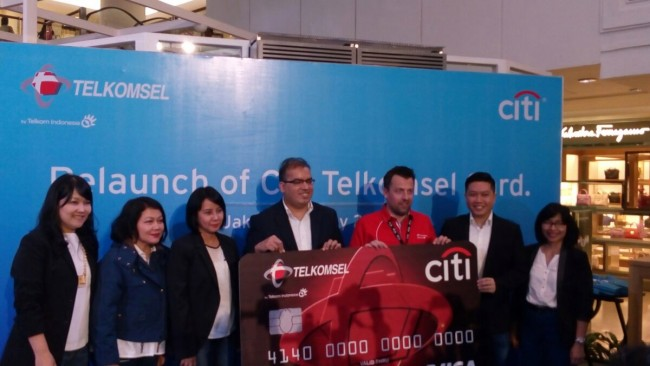 Telkomsel Gandeng Citi Bank Luncurkan Citi Telkomsel Card