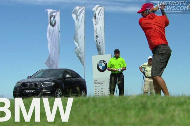 BMW Golf Cup International 2015 Indonesia, Resmi Dibuka