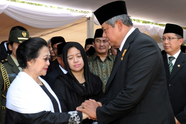MPR to 'Reconcile' Mega-SBY in Blitar