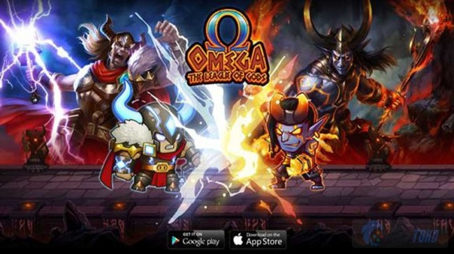 PerfectGame Luncurkan Omega: The League of Gods di iOS dan Android