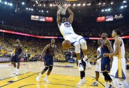 Cavs Tumbang dari Warriors via OT