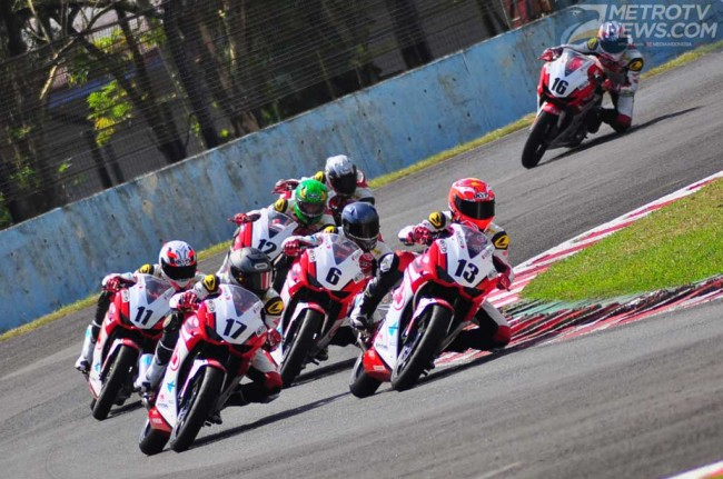 Yogha Dio Finish Keempat di Asia Dream Cup Race Pertama