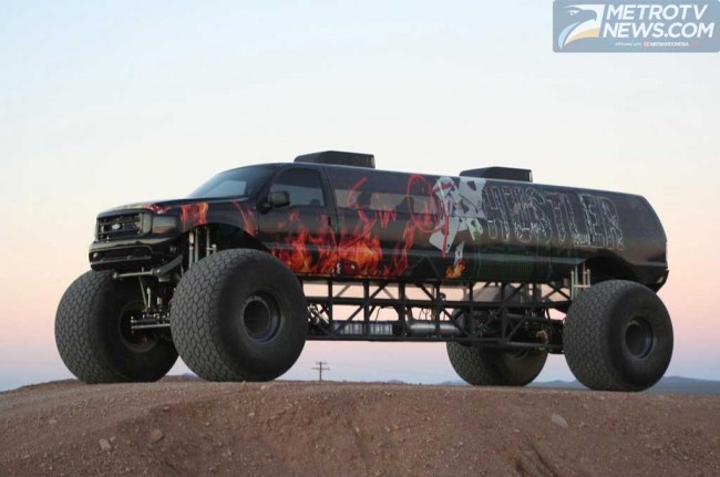 Monster Ford Excursion ala BTR Motor