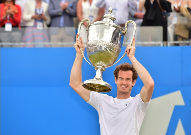 Raih Gelar Keempat Queen's Club, Murray Optimistis Tatap Wimbledon