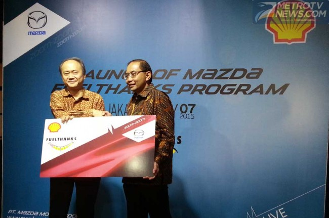 Mazda dan Shell Hadirkan Program Mazda Fuelthanks