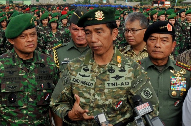 Today, Jokowi Inaugurates Military and Intelligence Agency Chiefs