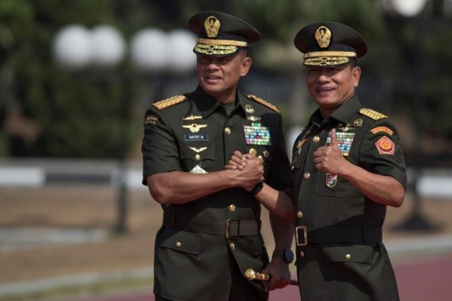 Moeldoko: Gatot Nurmantyo is Now the Star