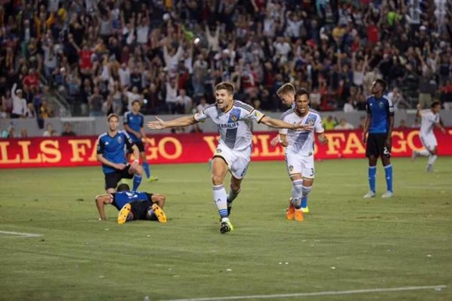 Galaxy Menang, Gerrard Kreasikan Gol dan Assist di Debut MLS