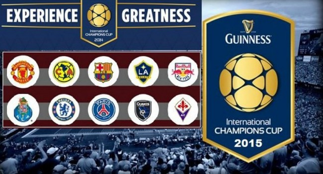 Klasemen Sementara International Champions Cup 2015