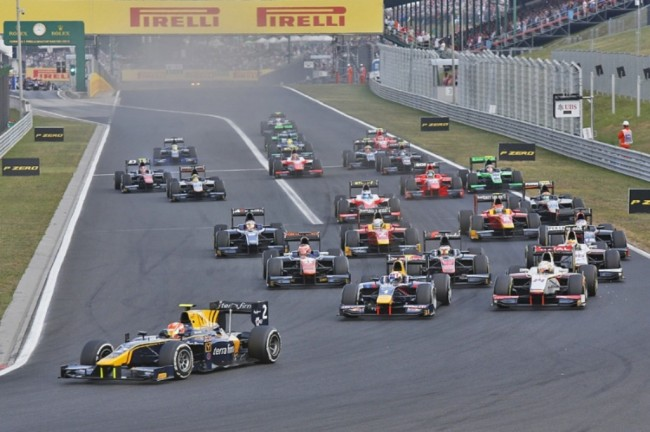 Rio Haryanto Finis Urutan Keempat pada <i>Feature Race</i> GP2 Hungaria