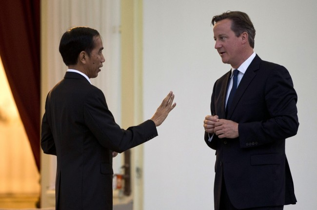 Jokowi Asks Britain to Lower Tariffs