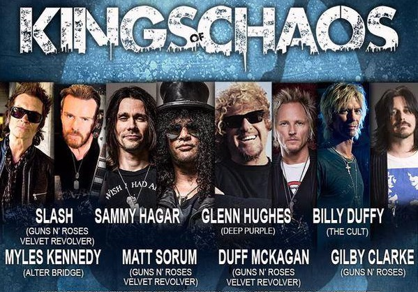 Kings of Chaos Performed a Charity Concert for Dolphin Conservation