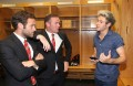 Anggota One Direction Kunjungi Ruang Ganti Manchester United