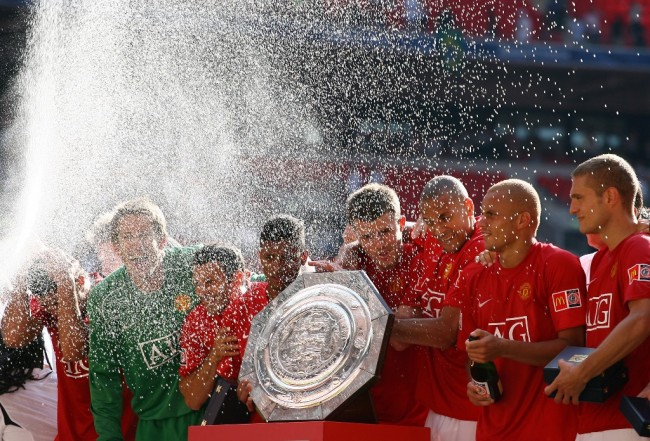 <i>On This Day</i>: Kemenangan Community Shield Pertama MU di New Wembley