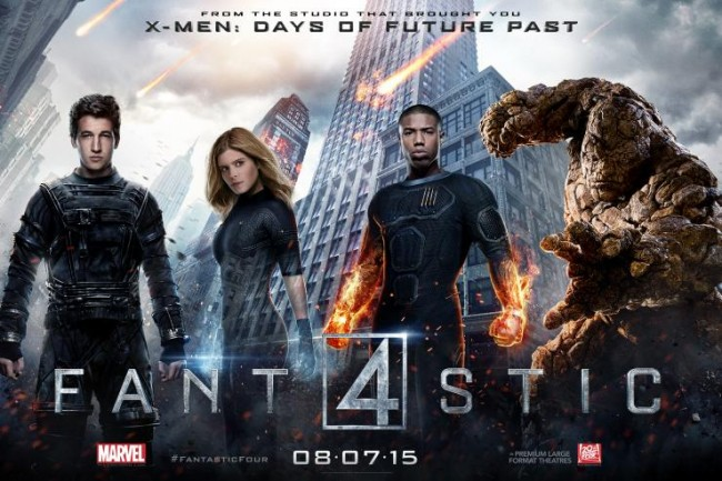 Fantastic Four, Rekor Terburuk Film Marvel