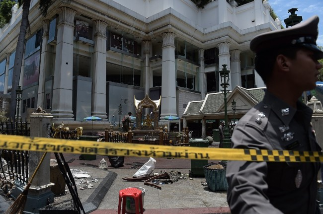 An Indonesian Killed in Bangkok Blast