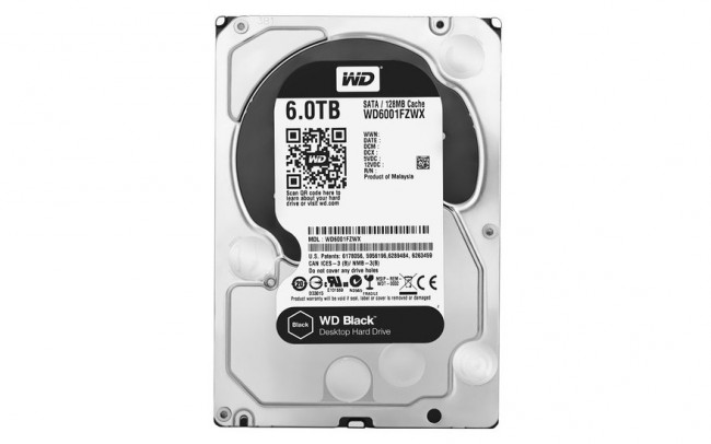 Western Digital Rilis Hard Disk WD Black 6TB