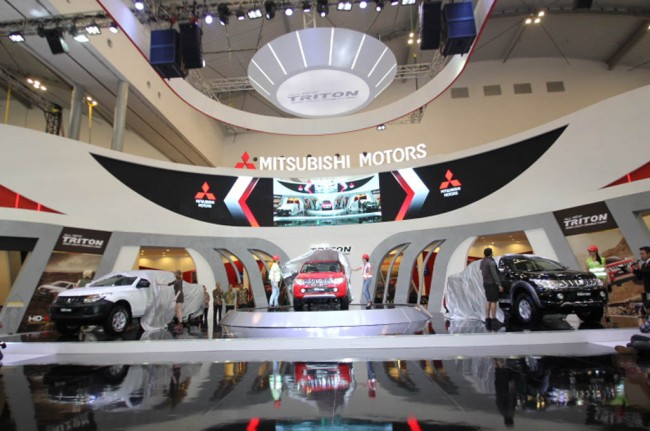Mitsubishi <i>Public Launch</i> All New Triton di GIIAS 2015