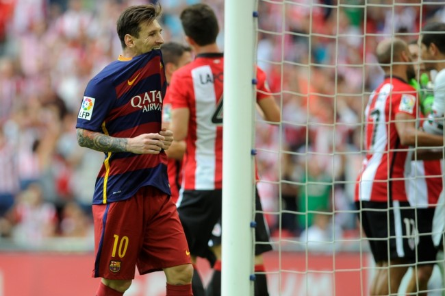 Messi Gagal Penalti, Bilbao vs Barcelona Belum Ada Gol