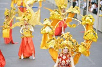 Meriahnya Karnaval Wonderful ArtChipelago Indonesia di Jember