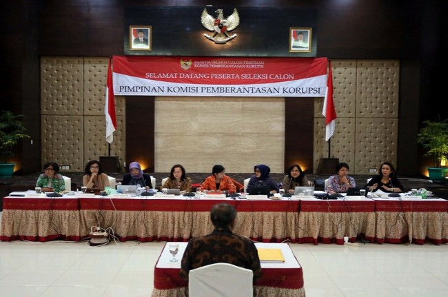 ICW Urges Jokowi to Scrape Three KPK Leader's Candidates