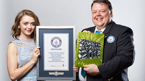 Game of Thrones Menerima Penghargaan Guinness World Record