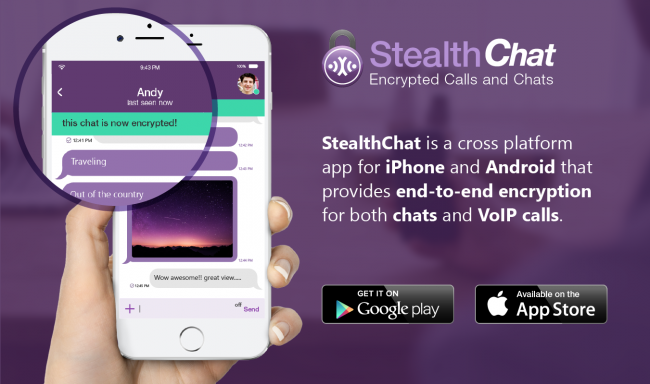 StealthChat, Aplikasi Messaging Terenkripsi