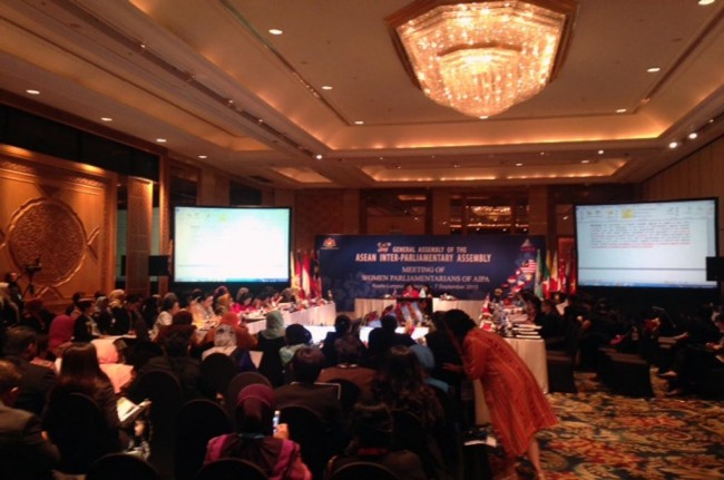 Culture of Respecting Women: Indonesia's Proposal for the 36th AIPA