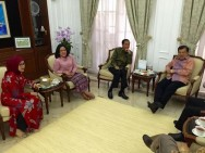 Visited by Jokowi, JK Directly Talks Business