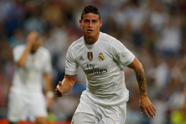 Real Madrid Tanpa James Rodriguez Kontra Espanyol