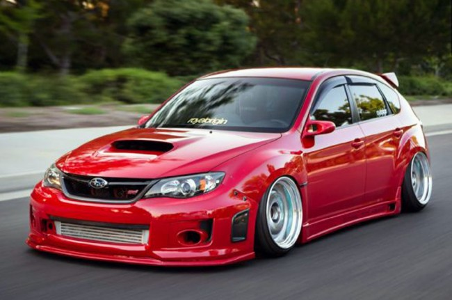 Subaru STI Hatchback 2009, Aplikasi Komponen Big Turbo