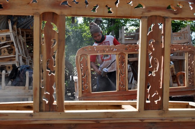 Indonesian Furniture Industry Less Competitive than Vietnam
