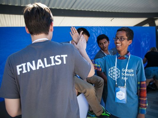 Ahmed Mohamed Hadiri Google Science Fair