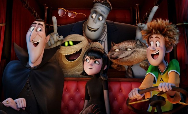 Hotel Transylvania 2, Film Terlaris September