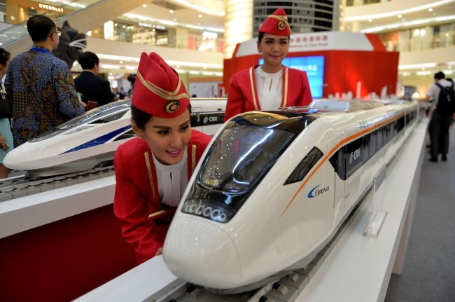 Fast Train Tender, JK: China is Stronger Than Japan