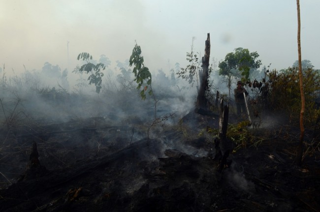 DPR Thinks Gov't Awaits Natural Miracle Preventing Haze Disaster