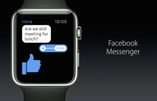 Facebook Perbarui Messenger, Optimal di Apple Watch