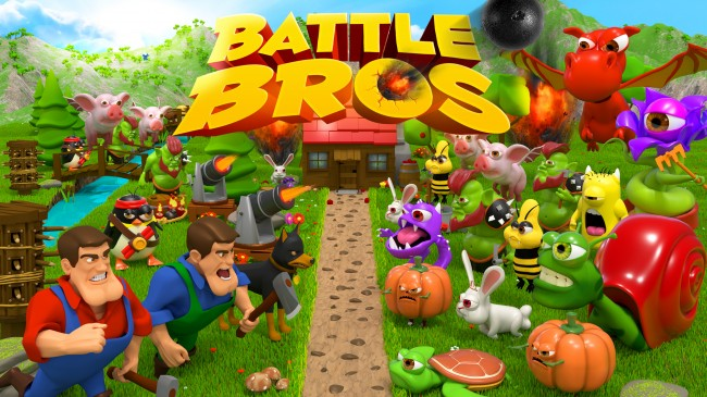 Game Tower Defense Battle Bros Segera di iOS dan Android